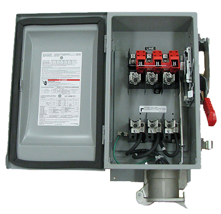 PYLE NATIONAL WFRS6036 Safety Switch Open View