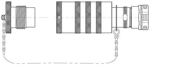 AMPHENOL EEC MECHANICAL CLAMP PLUG