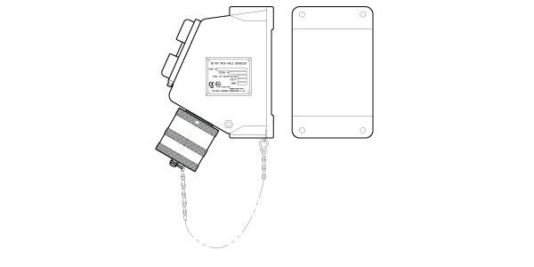 AMPHENOL EEC JUNCTION BOX RECEPTACLE